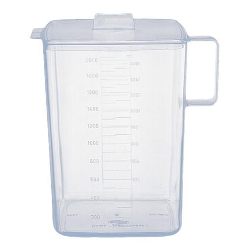 Urinsammelgefäss mit Deckel, 2 Liter