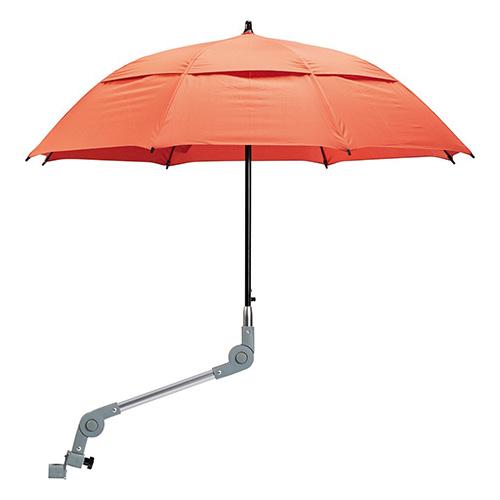 Schirm zu Rollator oder Rollstuhl