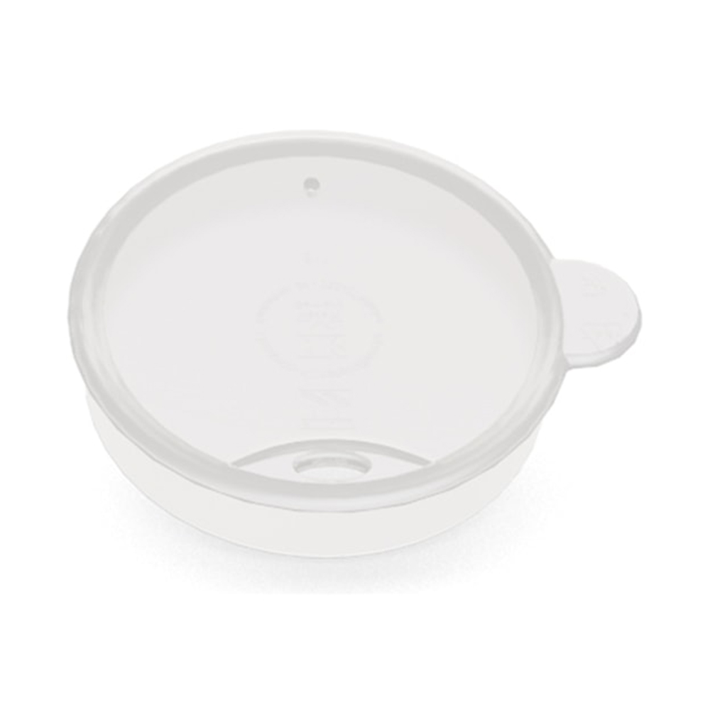 Trinkdeckel für Strohhalme (ø 70 mm) transparent / M811