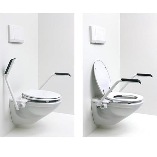 WC-Erhöhung mit Armstützen – T10