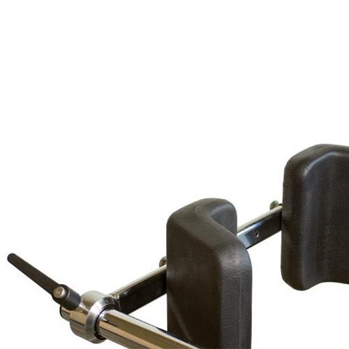 Haltestange mit 2 Beckenpelotten zu Freistehbarren
