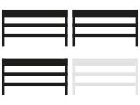 geteilte Sicherungen 3 von 4 Elementen