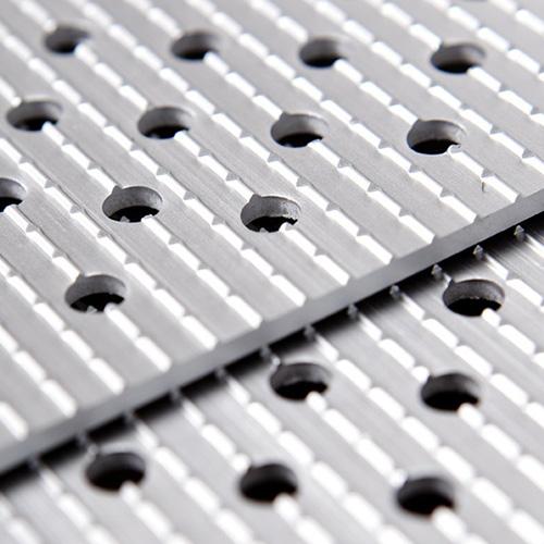 Einteilige Rampen aus Aluminium
