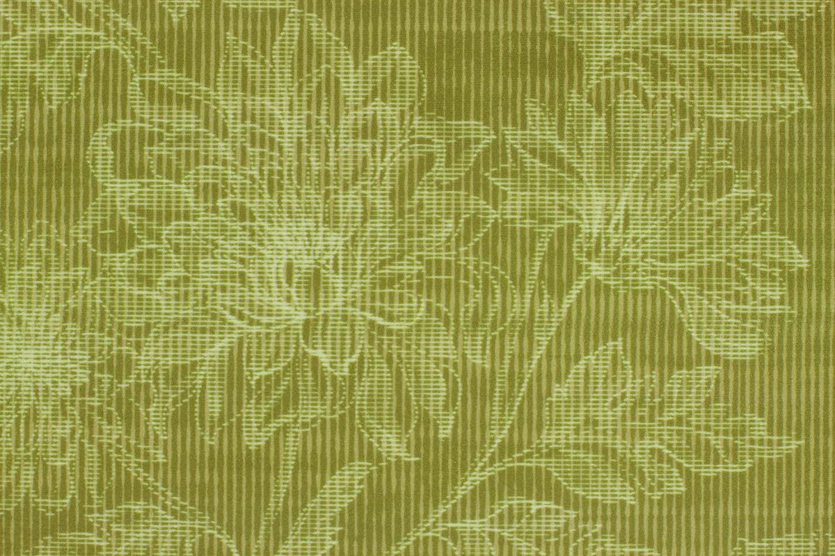 Stoff: Grün, floral (Aurora 6520)
