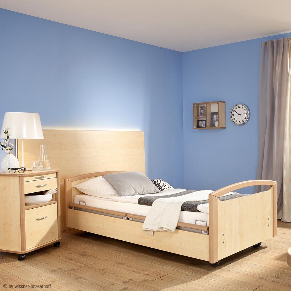 Wi-Bo Bett Sentida mit Holzdekor