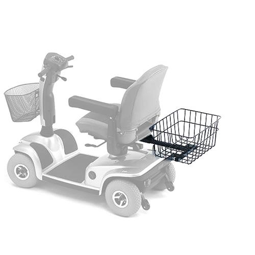 Grosser Einkaufskorb zu Scootern von Invacare