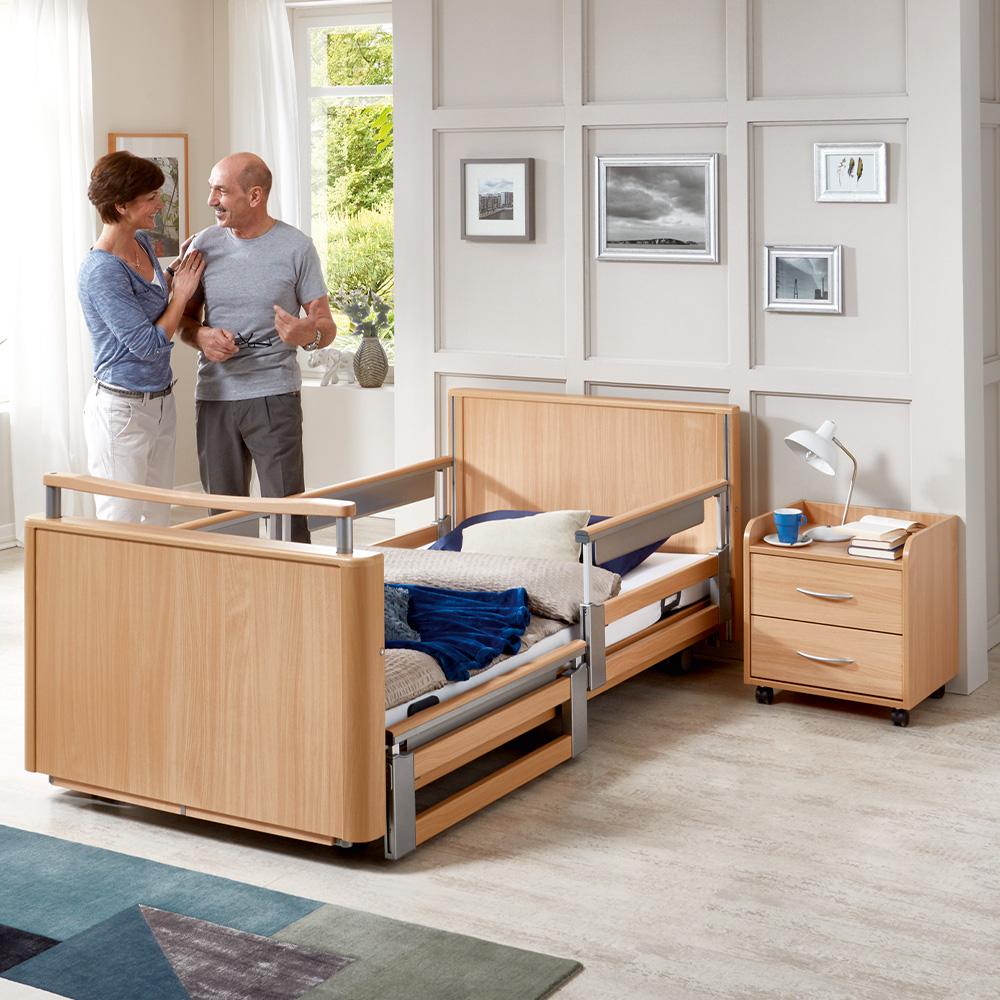 Niedrig-Pflegebett Auforum «Wiese»