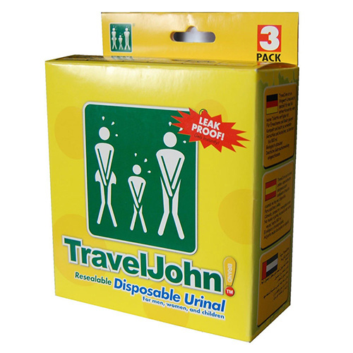 Einweg Urinbeutel Travel John