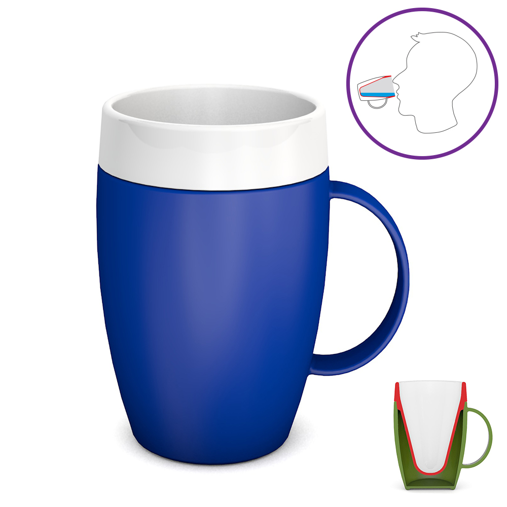 Becher mit Trink-Trick 140 ml / M905