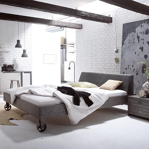 Bettenrahmen «Factoryline / Factorychic» von Hasena
