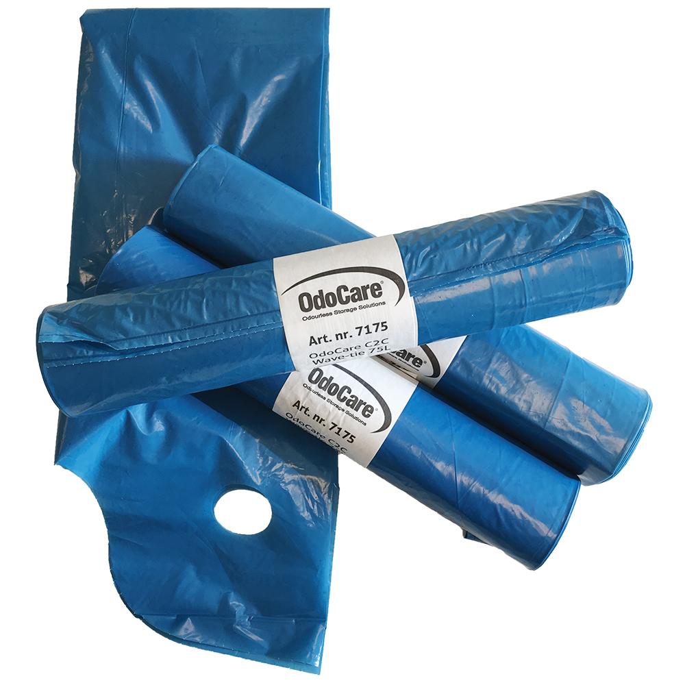 Entsorgungsbeutel blau – zu Abfalleimer OdoCare