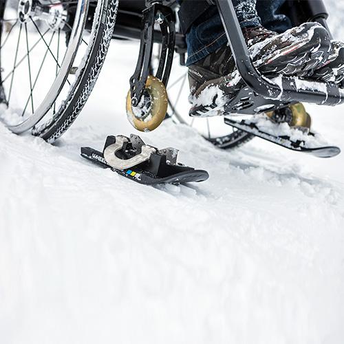 Wheelblades – Kufen für auf Schnee und Eis