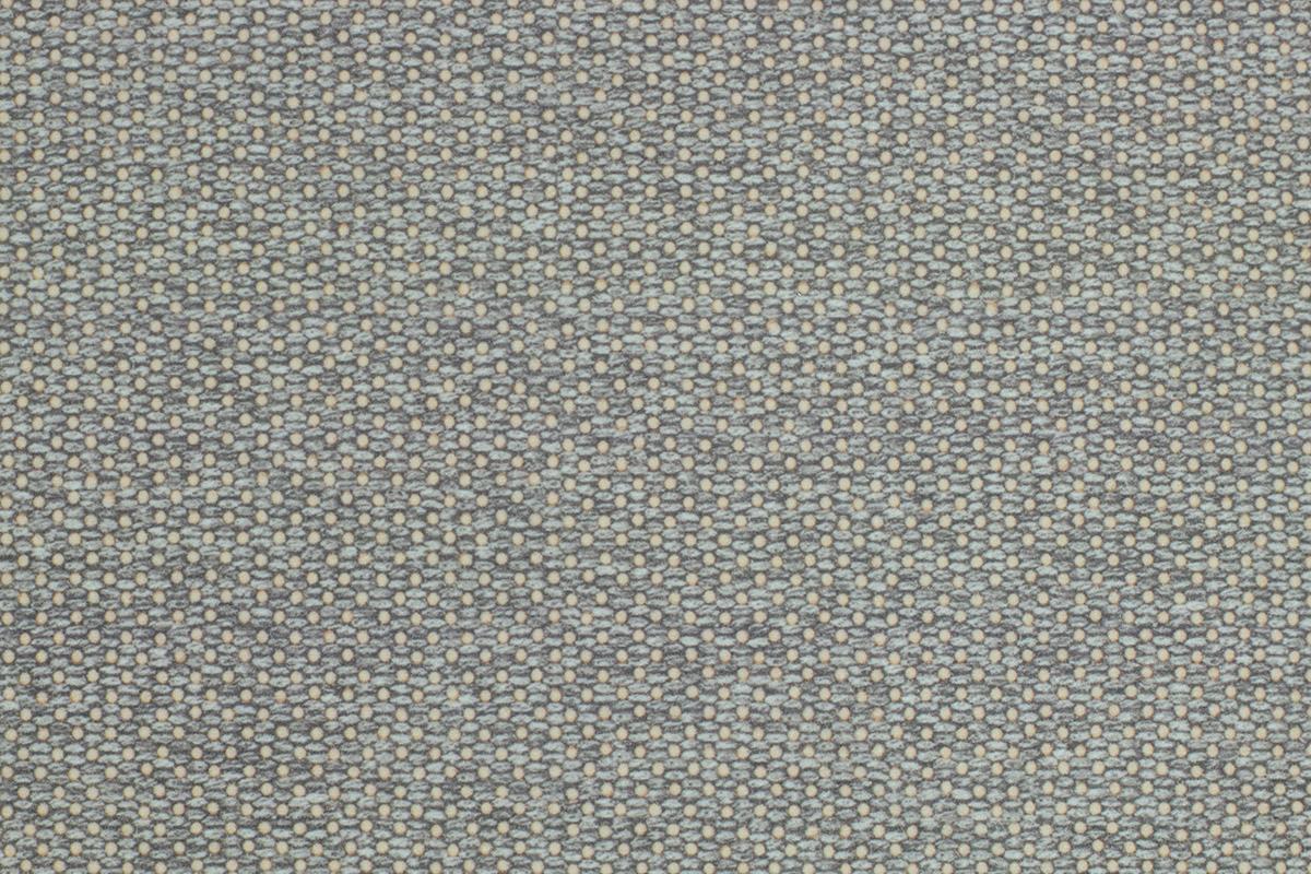 Stoff: Grau, gepunktet (Flint 8520)