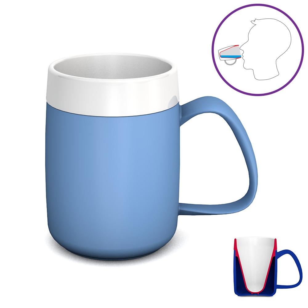 Becher mit Trink-Trick, 140 ml / M207