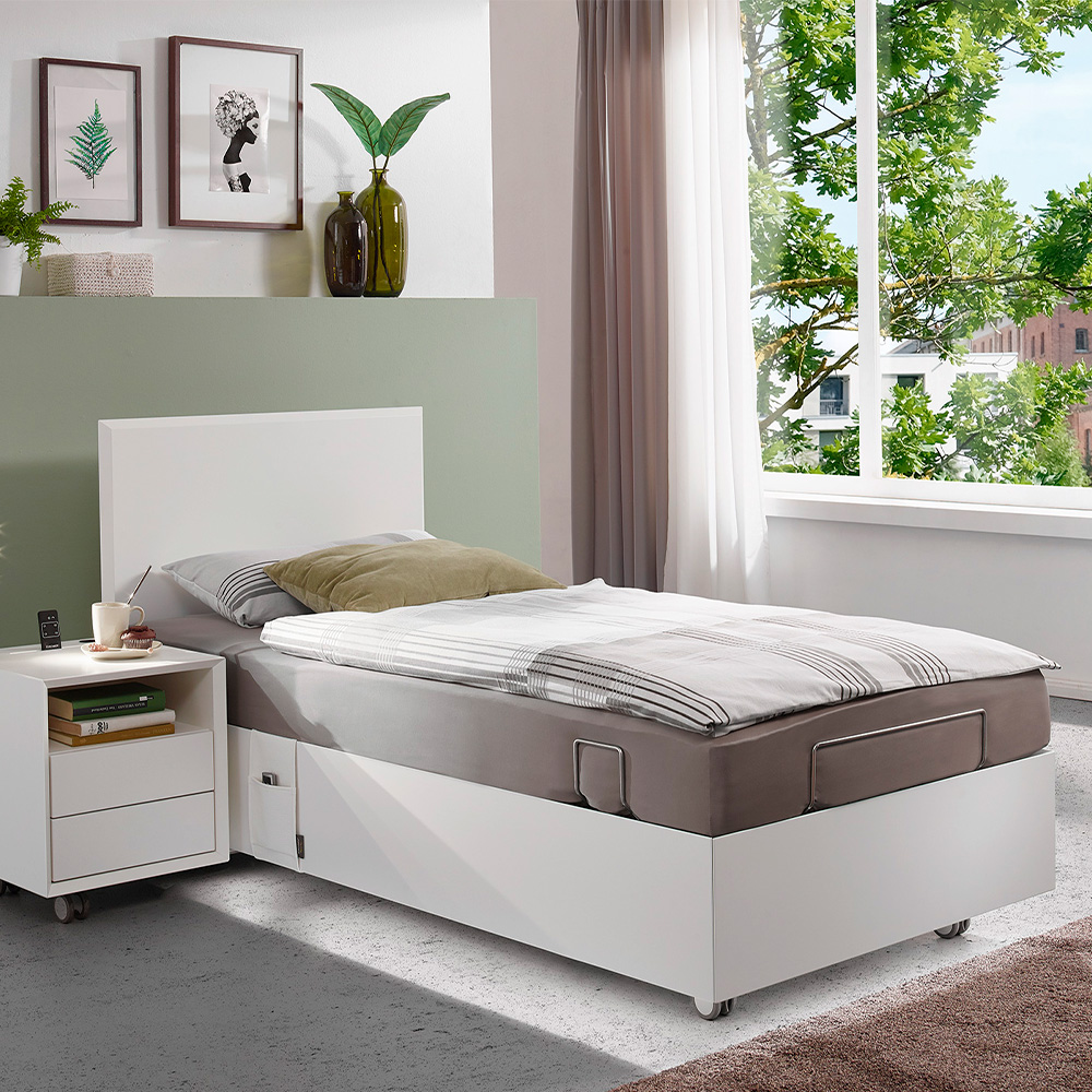 Kirchner Bett LUGANO BOXLIKE – 90/100 cm breit