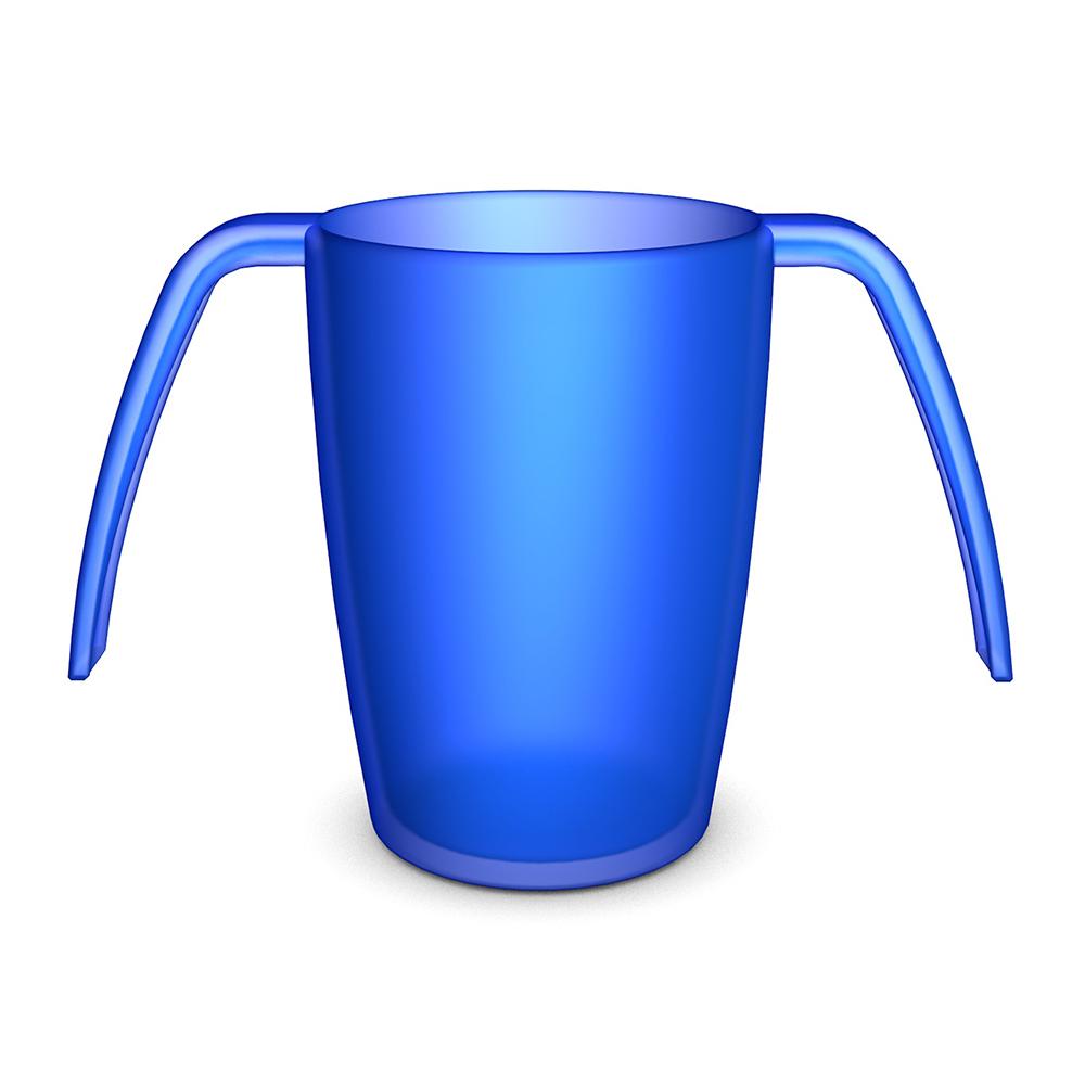 2-Henkel-Becher 220 ml / M816