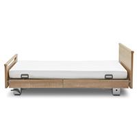 Holz-Seitenblenden = 2x 110 cm / 2x 90 cm (Anbringung kopf-/fuss variabel)