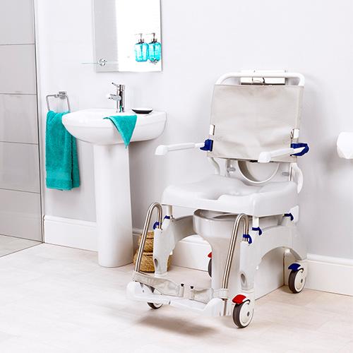 Dusch- und Toilettenrollstuhl Ocean Ergo