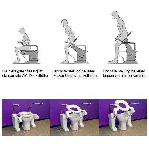 Toilettenlift Aerolet Basic