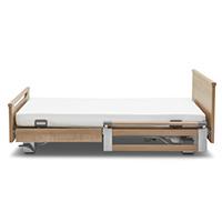 Sicherungen kopfseitig geteilt (TSG), Holz-Blenden = 2x TSG kopf 110 cm / 2x Holz-Blenden fuss 90 cm