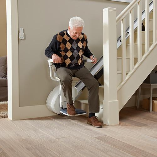 Treppenlift gerade Treppe HOME Glide EXTRA – Standard
