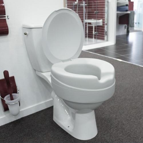WC-Erhöhung gepolstert 10 cm